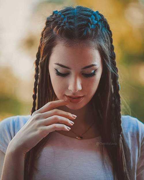 11 Peinados de chicas Tumblr que querrás usar todos los días - trenzas