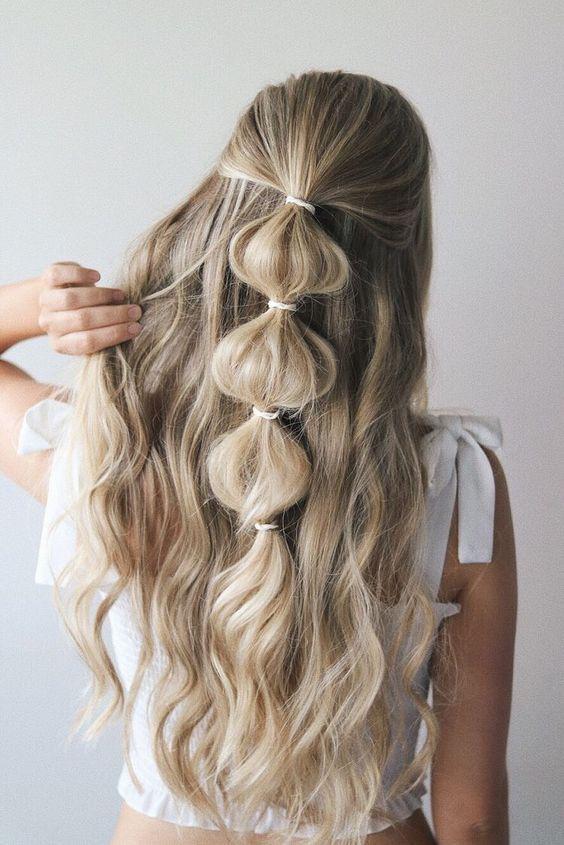 Peinados que te harán desear tener cabello largo - trenza