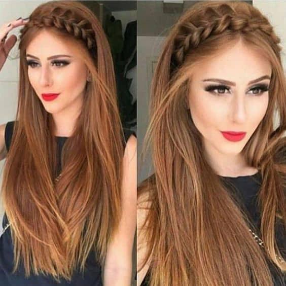 Peinados que te harán desear tener cabello largo - bandana de cabello