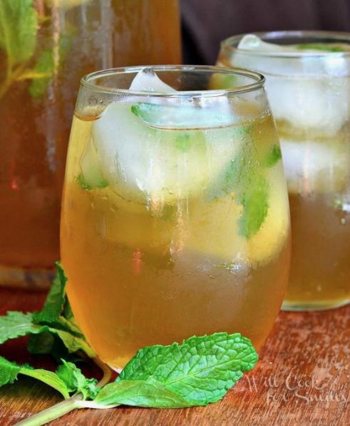 Alimentos que te ayudarán a bajar la pancita en poco tiempo - Té verde sin azúcar