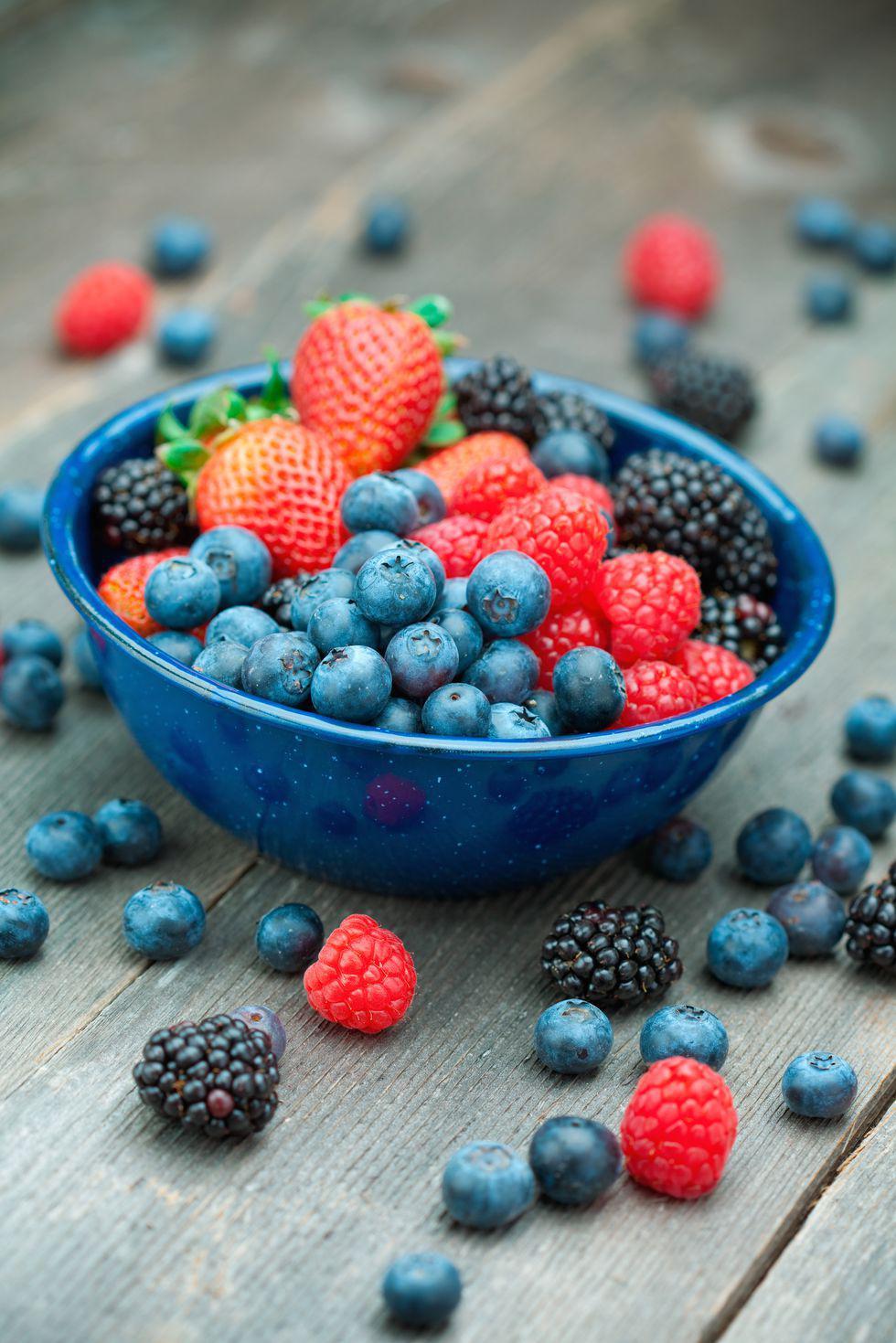 Alimentos que te ayudarán a bajar la pancita en poco tiempo - Fibras y los antioxidantes