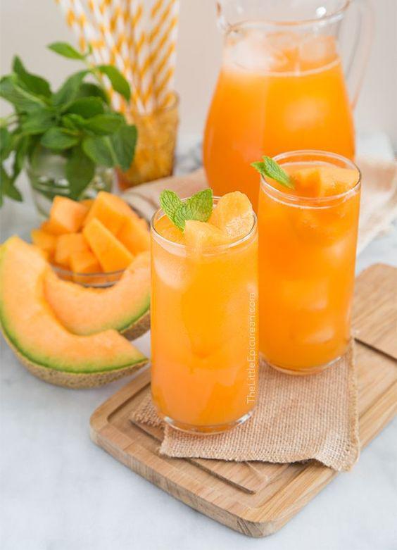 Jugo de melón para perder peso