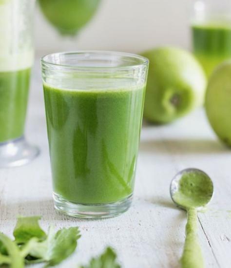 Jugo verde para quemar grasa y aplanar el abdomen