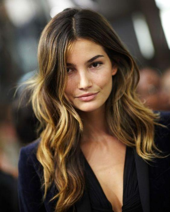 Los mejores cortes y tintes de cabello para cara redonda - Hair Contouring