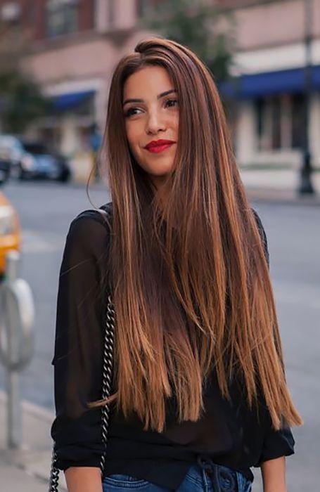 Los mejores cortes y tintes de cabello para cara redonda - Melena XXL