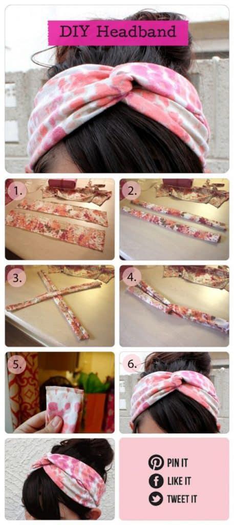 Ideas para reutilizar tu ropa - headband