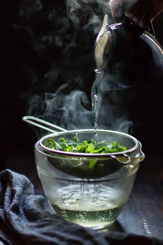 Remedios caseros para los labios partidos - Té verde