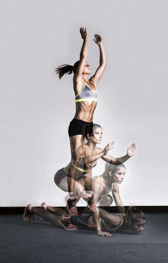 Los 9 mejores ejercicios para hacer en casa - Burpees