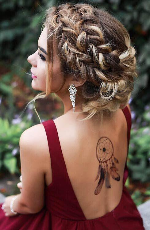 Super dulce peinados graduacion Colección De Cortes De Pelo Tendencias - Peinados que te convertirán en la más guapa de tu ...