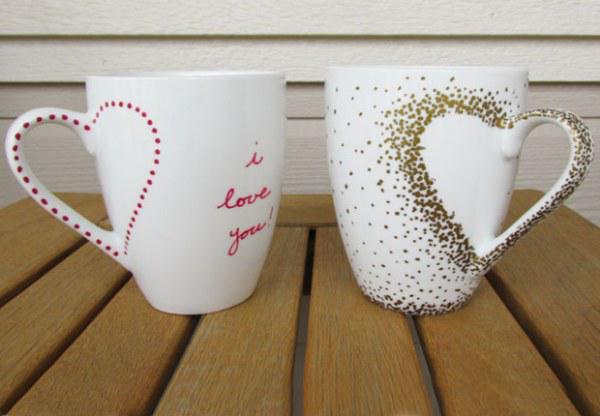 12 Ideas de Regalitos (DIY) para Navidad! Regala amor! - Tazas personalizadas