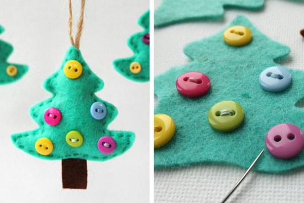 Arbolitos para el árbol de Navidad