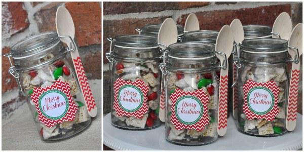 Frascos con dulces o algún postre