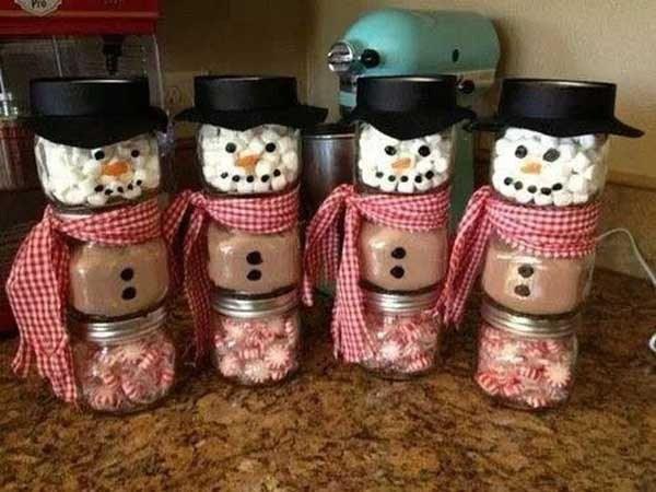 Tarros para preparar chocolate caliente