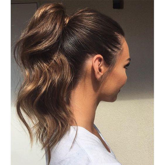 Tips para lograr un peinado de cola de caballo perfecto - Sécalo bien