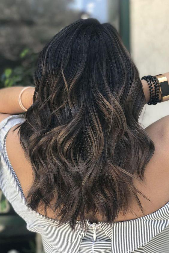Descubre aquí el tono perfecto de cabello ideal para tu tipo de piel - Negro cálido
