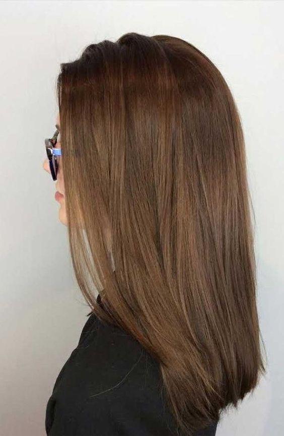 Tintes de cabello que te harán ver más joven - Café castaño