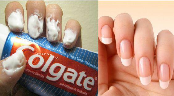 Trucos de belleza con pasta de dientes que te salvarán el día - Quita tu esmalte