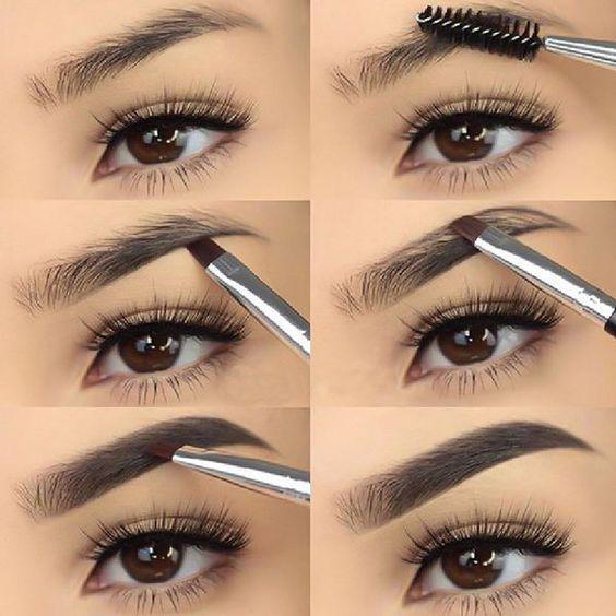 Trucos de maquillaje y peinado para verte más delgada - Dile hola a las cejas pobladas