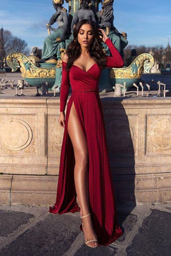 Los 5 mandamientos para usar un vestido largo (palabra de celeb) - Usa los zapatos ideales