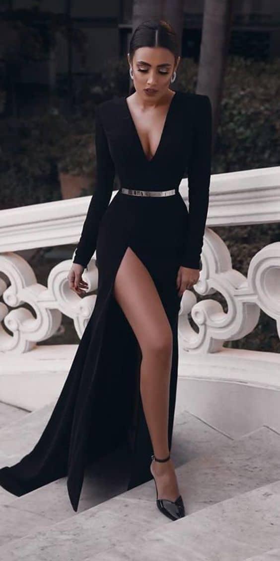 Los 5 mandamientos para usar un vestido largo (palabra de celeb) - Elige un estampado que te favorezca