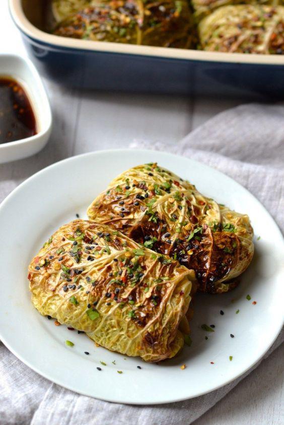 Cenas ideales para perder peso si no hay tiempo - Tacos de col