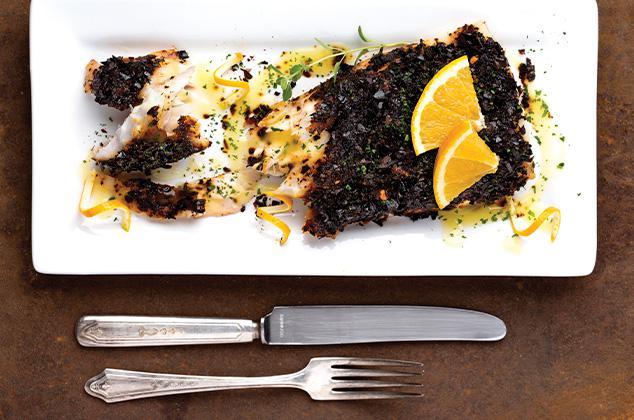 Cenas ideales para perder peso si no hay tiempo - Pescado en costra de chile