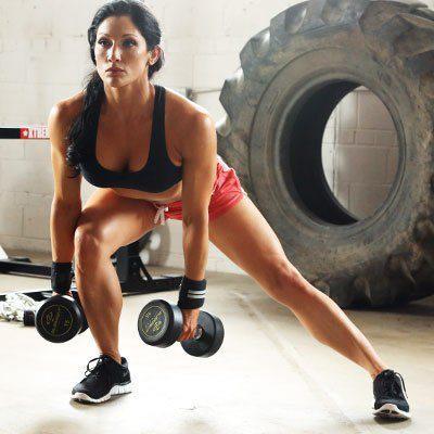 11 ejercicios que te harán lucir un booty de impacto - Side Lunges