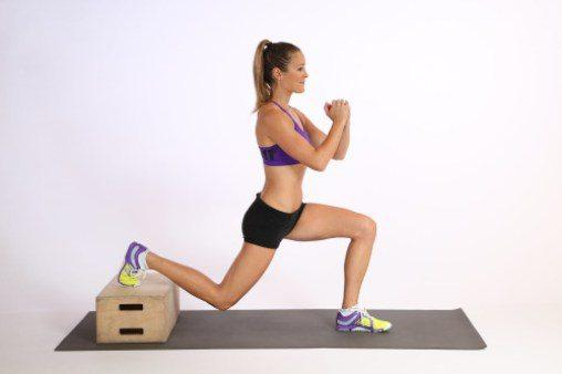 11 ejercicios que te harán lucir un booty de impacto - Split Squat