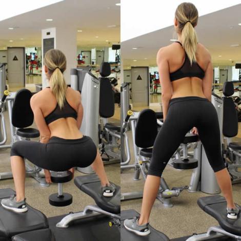 11 ejercicios que te harán lucir un booty de impacto - Sumo Squats