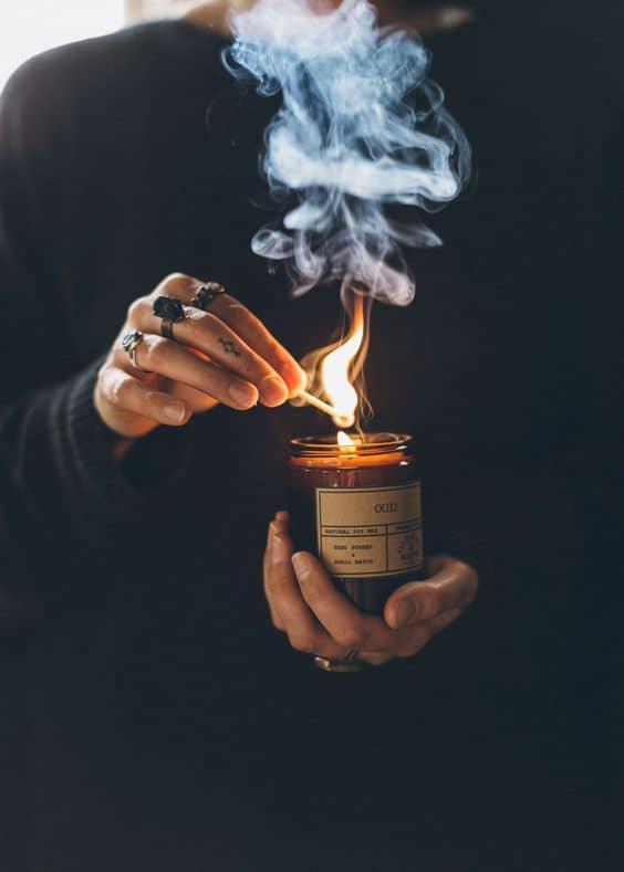 10 regalos sencillos para el intercambio en la oficina - Velas aromáticas