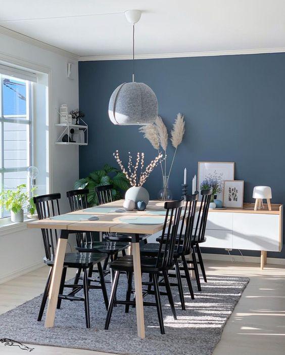 Formas sencillas de decorar tus paredes usando colores - Usa más de un color