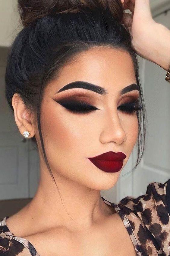 Maquillaje para lucir súper cool con cubrebocas - Clásico