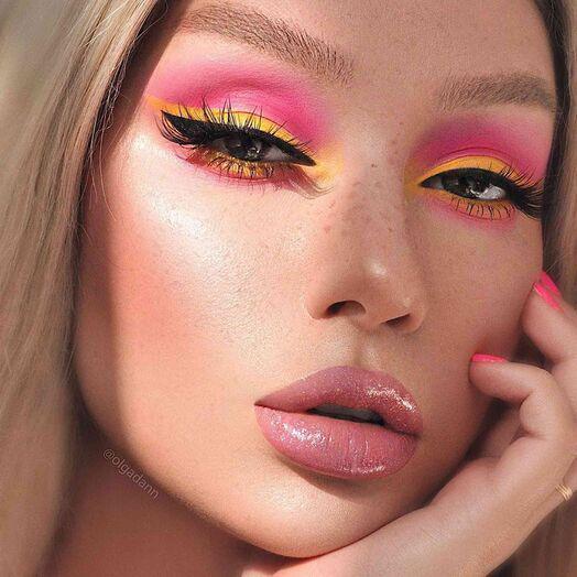Maquillaje para lucir súper cool con cubrebocas - Color sobre color