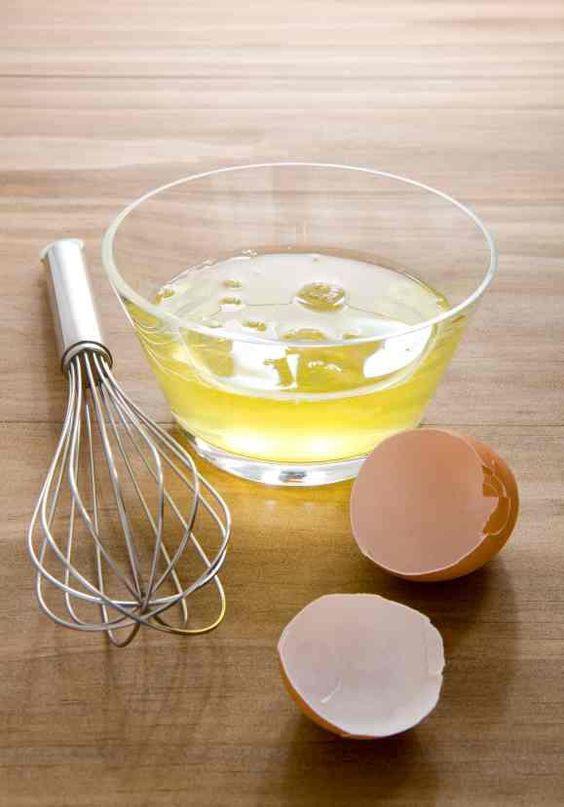 Consejos para disminuir las estrías en la piel - Claras de huevo