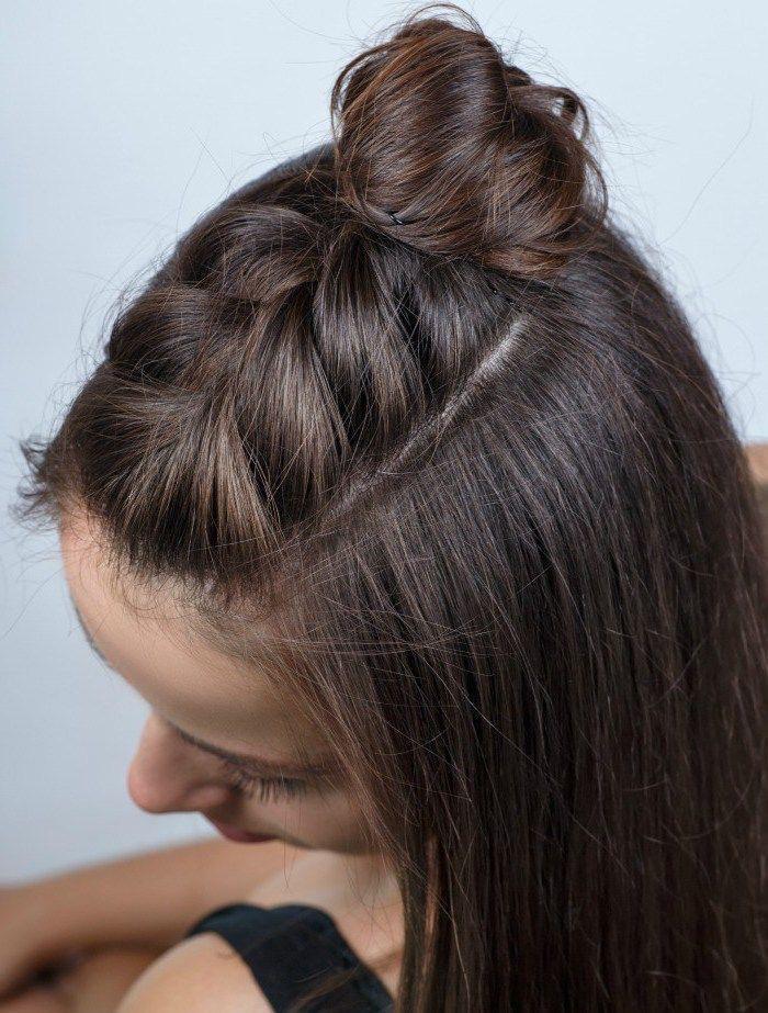 ideas de peinados para cabello corto - Tus amigas siempre serán las trenzas