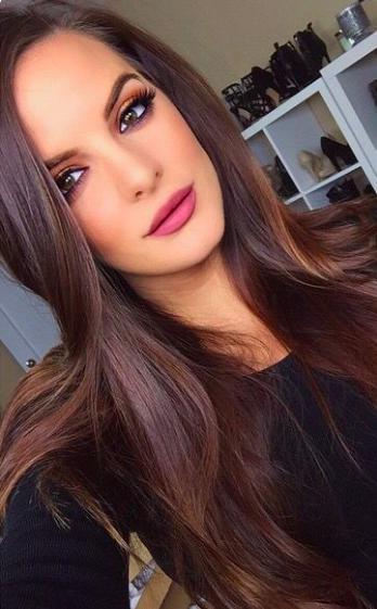 Tintes de cabello que no requieren tanto cuidado - Chocolate o castaño oscuro