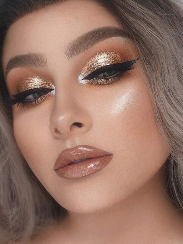 maquillaje de noche: Ideas para lucir espectacular - Glitter