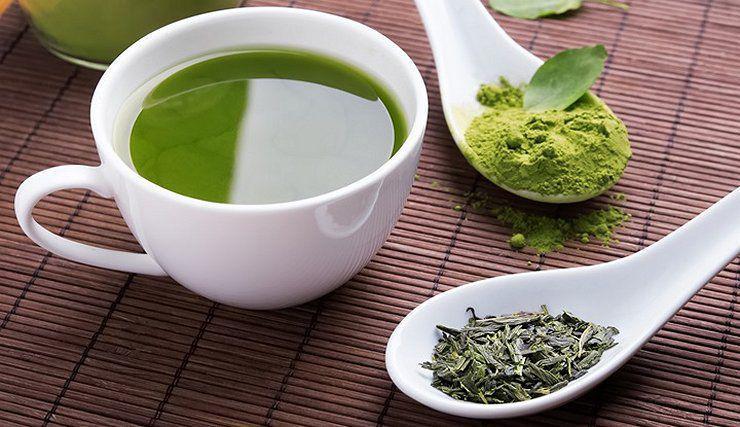 Tónicos naturales para refrescar tu rostro - Té verde