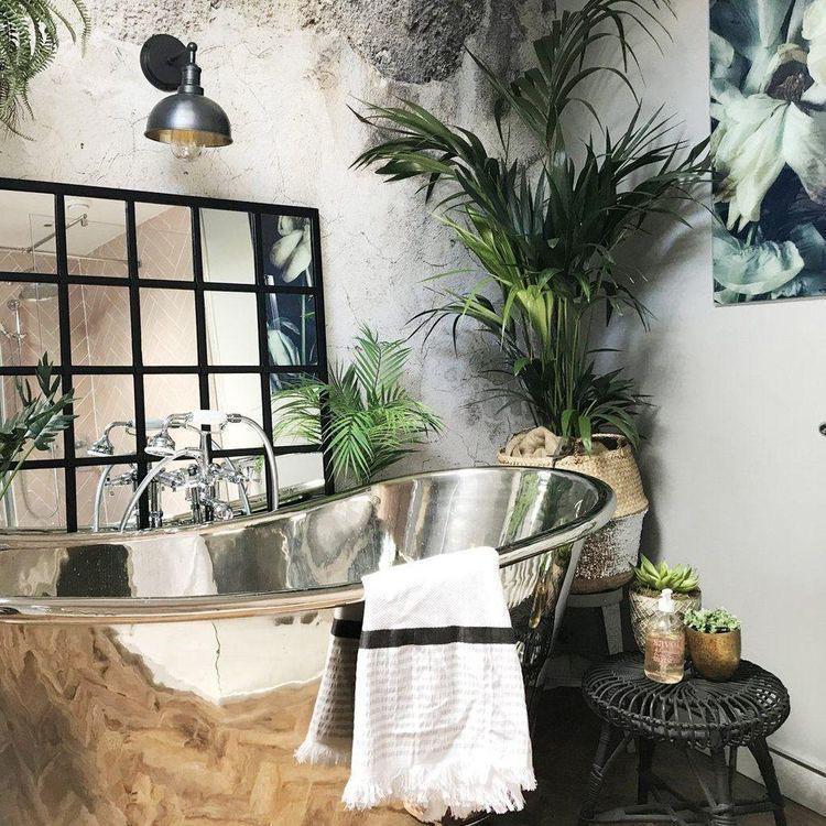 ideas de mueble para el baño que te encantarán - Una tina