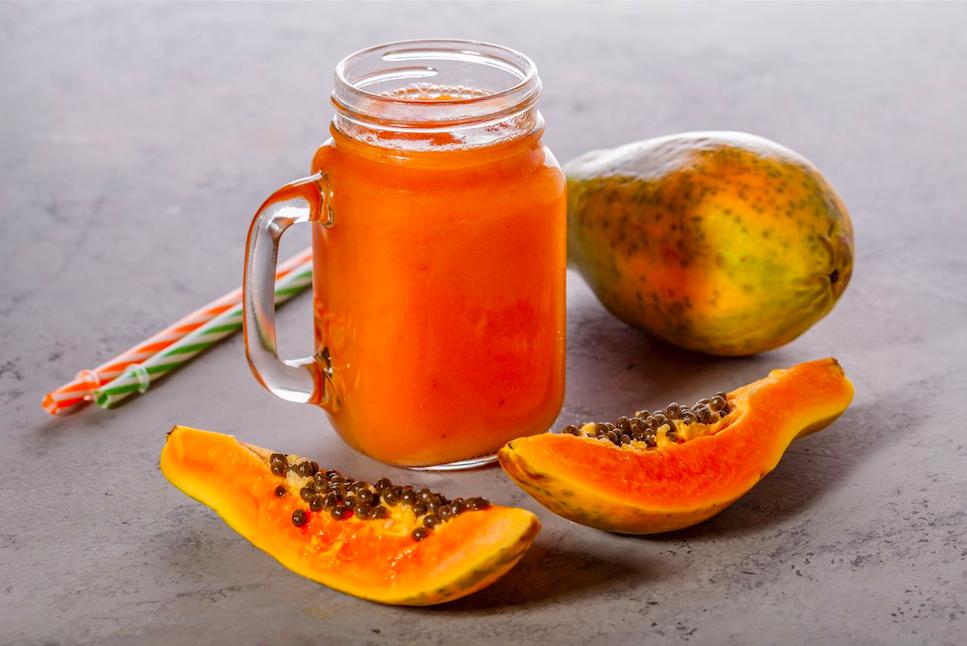 Jugos naturales para la gastritis (naturales y efectivos) - Jugo de papaya