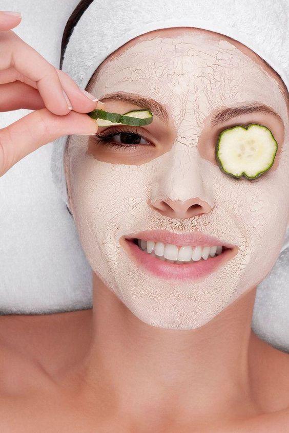 Mascarillas de yogur para suavizar arrugas y prevenir el envejecimiento - Mascarilla de yogur con arroz y aloe vera