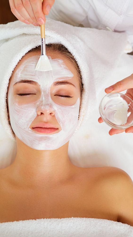 Mascarillas de yogur para suavizar arrugas y prevenir el envejecimiento - Mascarilla de yogur con avena