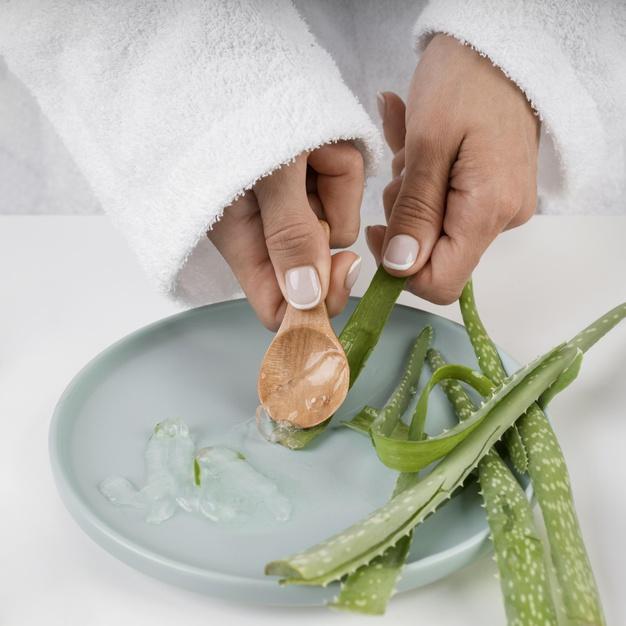 Remedios caseros para la caspa - Aloe vera: uno de los remedios caseros para la caspa más eficaces
