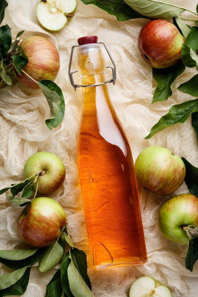 Remedios caseros para la caspa - Vinagre de manzana