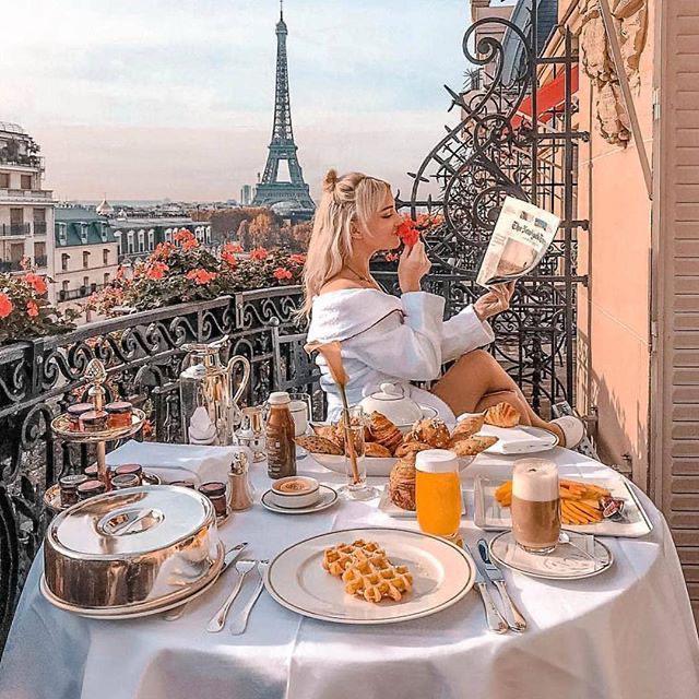 Fotos que me debo tomar cuando vaya a París - Breakfast