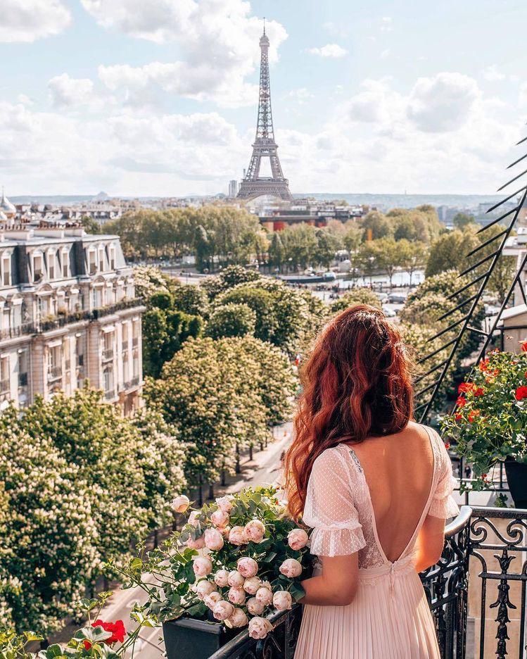 Fotos que me debo tomar cuando vaya a París - Con flores