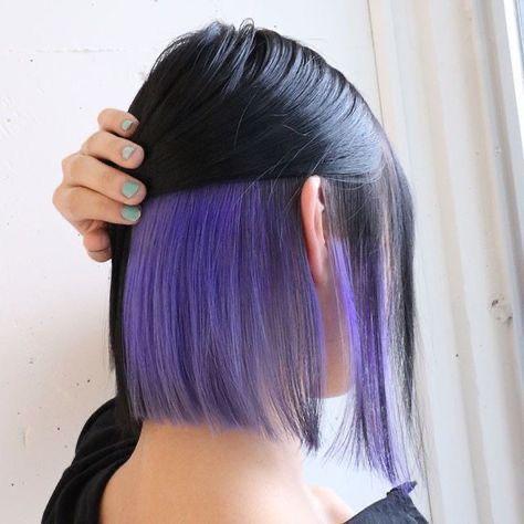 Ideas para las amantes del cabello corto - Colores