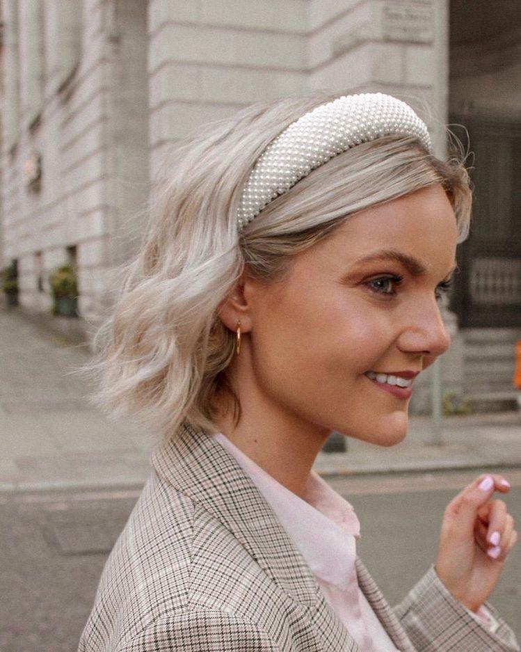 Ideas para las amantes del cabello corto - Diademas