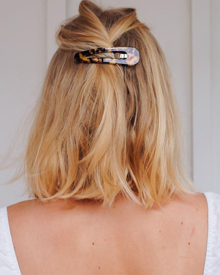 Ideas para las amantes del cabello corto - Clips para el cabello