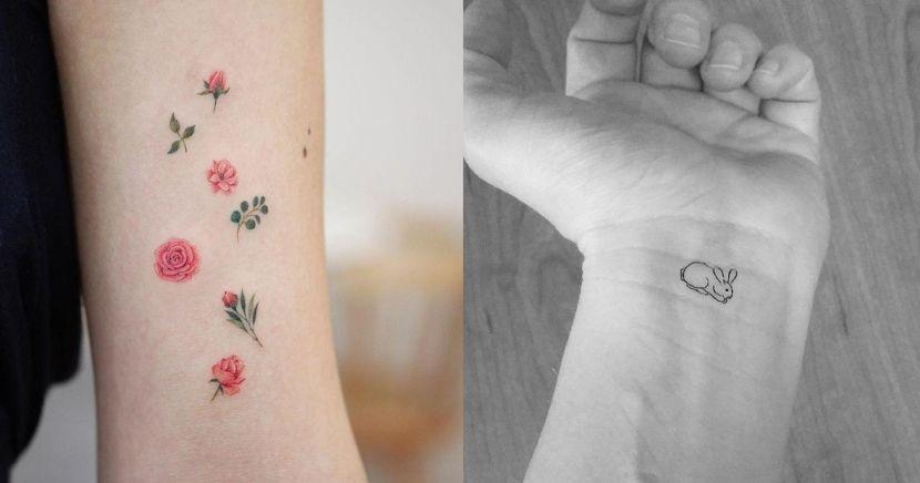 Ideas para tatuajes miniaturas